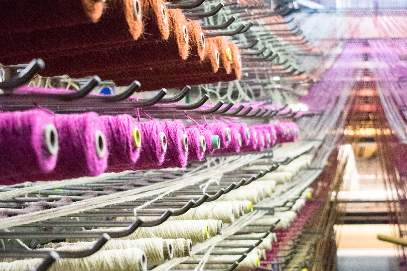 Alternative Flooring stair runners carpet weaving in factory