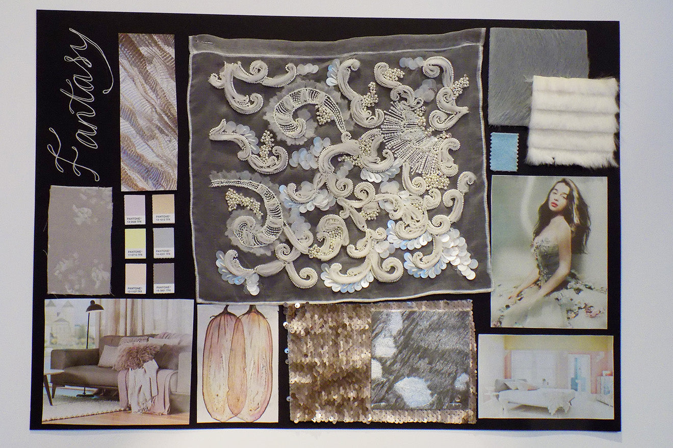 Amara Fantasy home accessory designed mood board