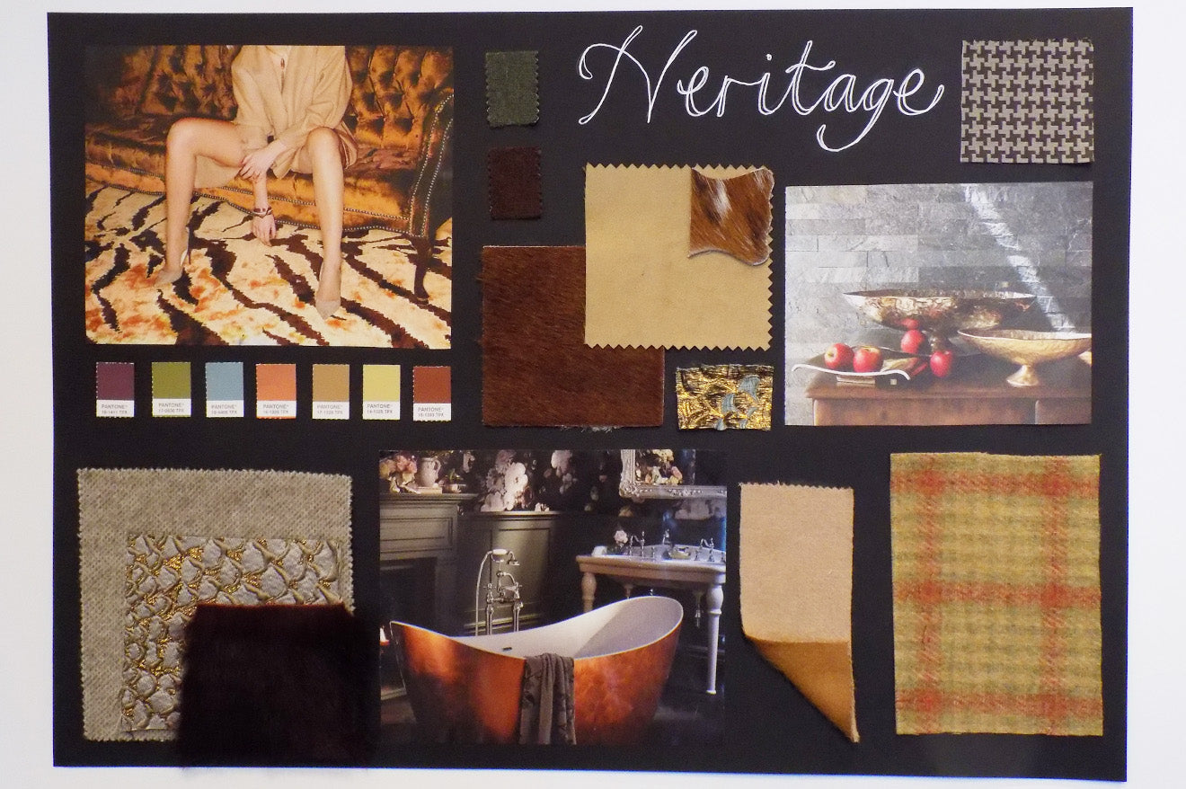 Amara Heritage style home accessories mood board
