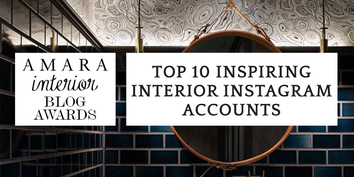 Amara Inspiring Interiors Instagram Accounts