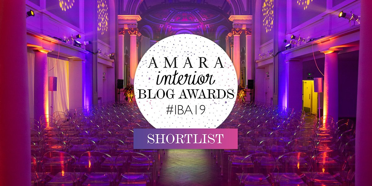 Amara Interior Blog Awards Shortlist 2019