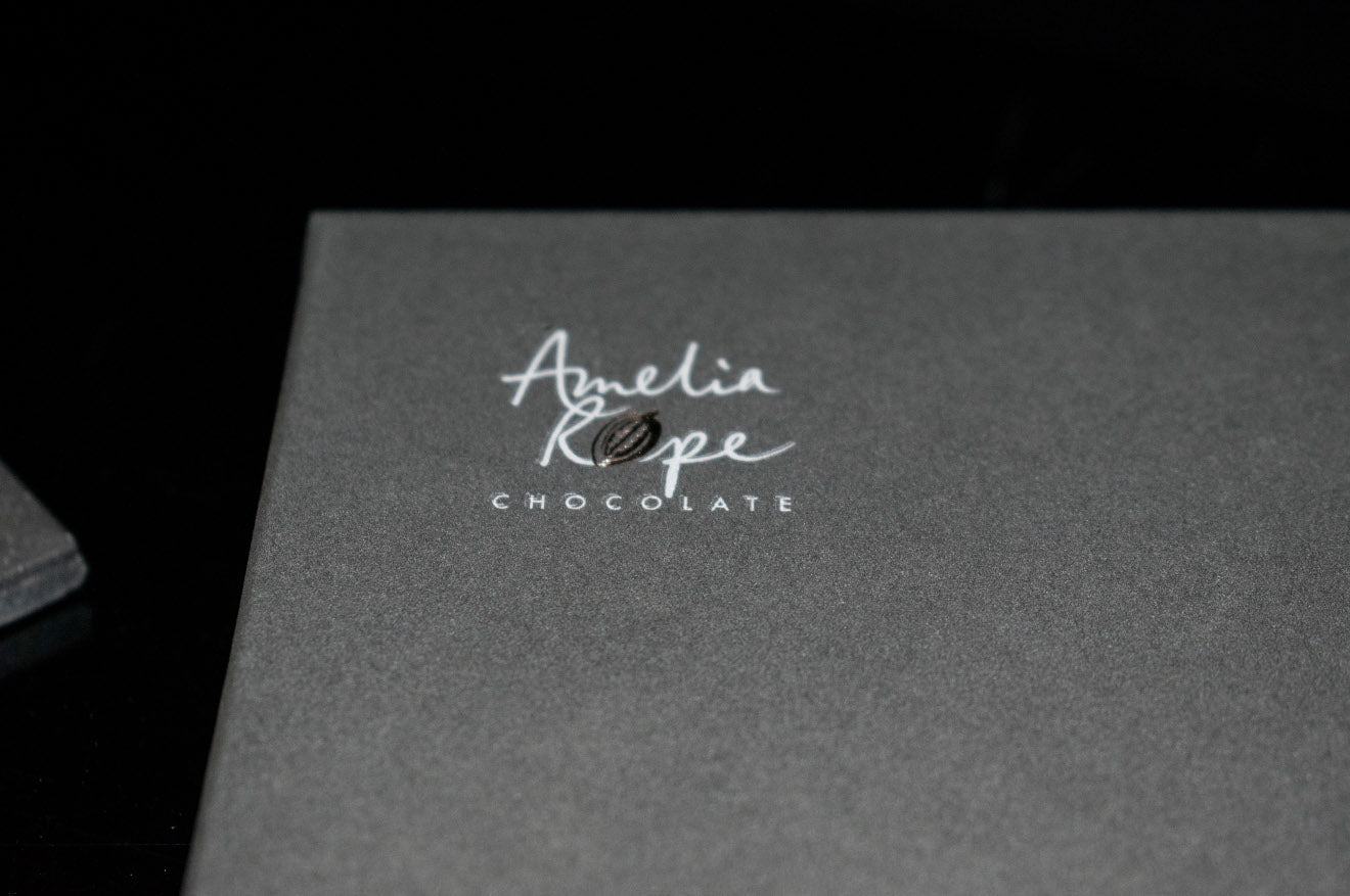 Amelia Rope Chocolate Branding