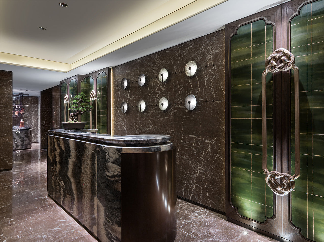 AFSO Andre Fu Interior Design Yu Yuan Restaurant Four Seasons Hotel