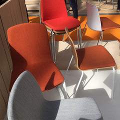 burnt orange ann chairs from in class