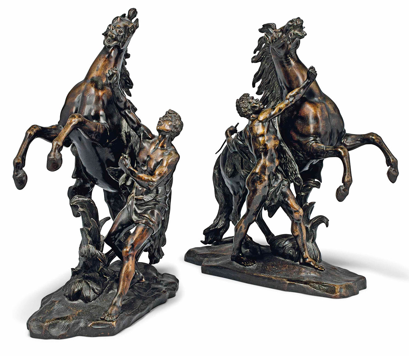Antique Bronze horses