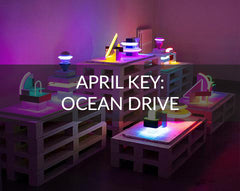 April Key Designs Ocean Drive