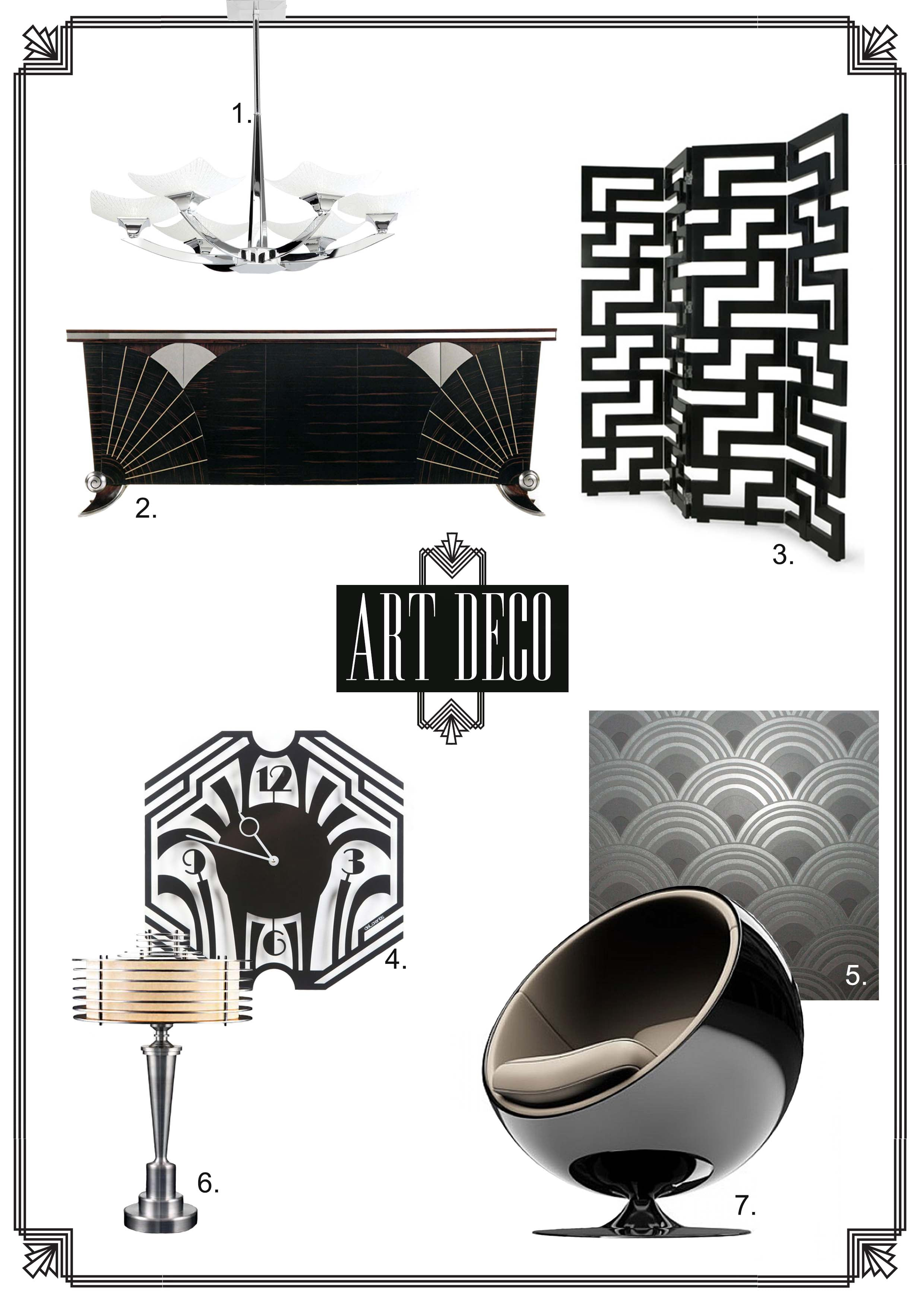 Art Deco Furniture Inspiration