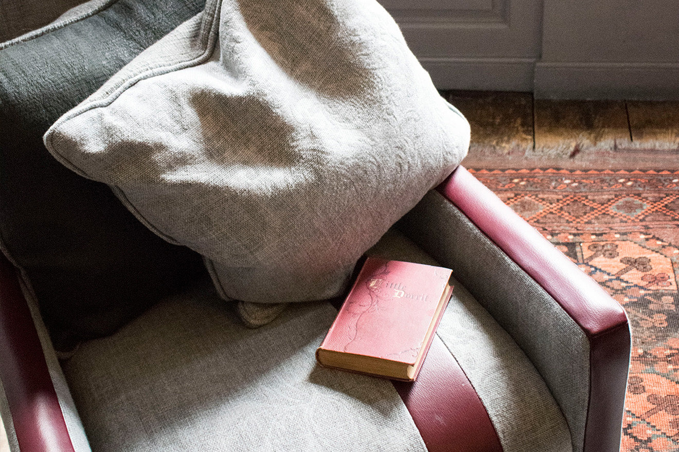 Author Interiors luxury cushions fabrics and throws