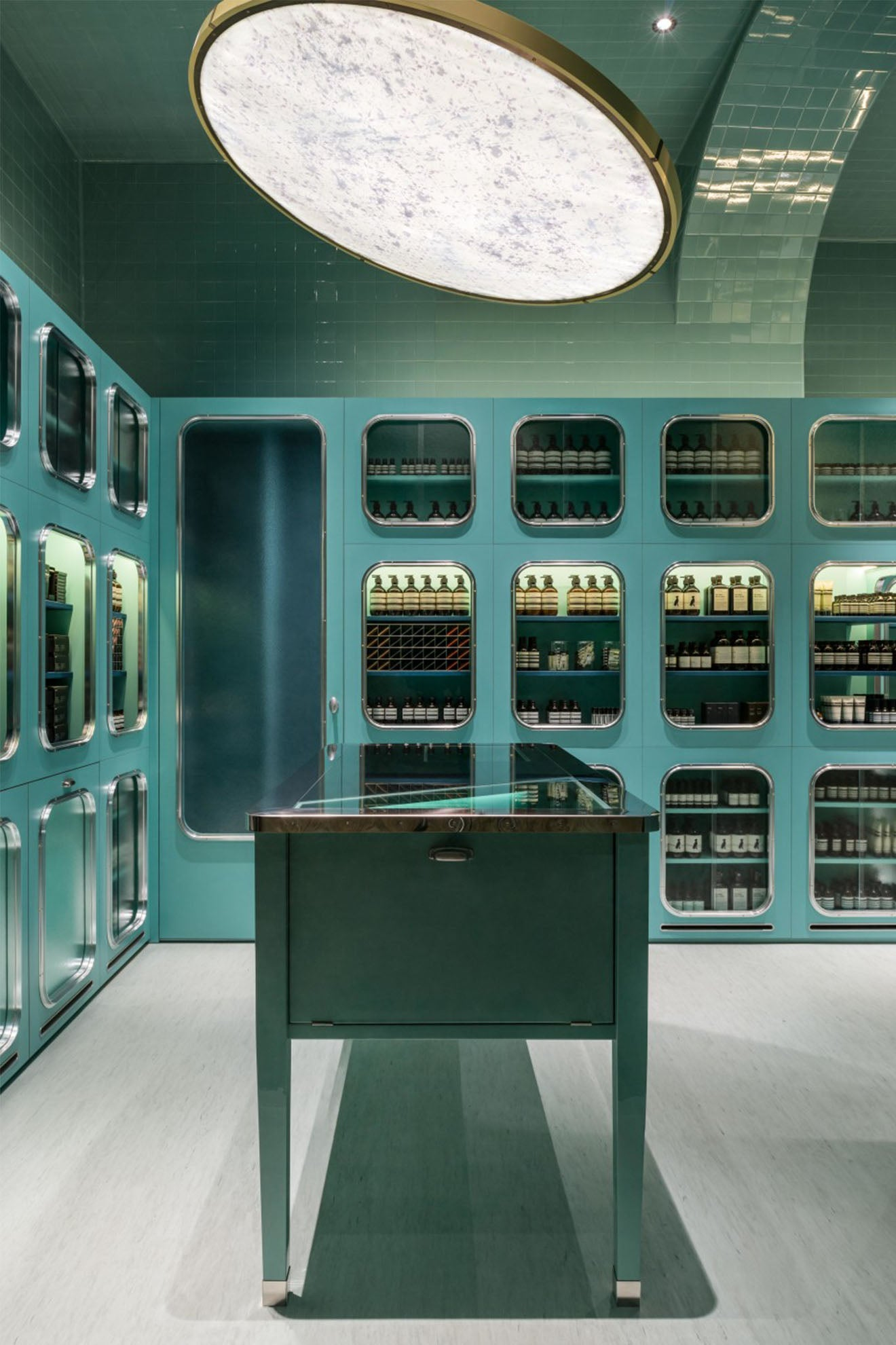 Aesop corso megenta milan store dimorestudio design review martyn white designs - Corso interior design on line ...