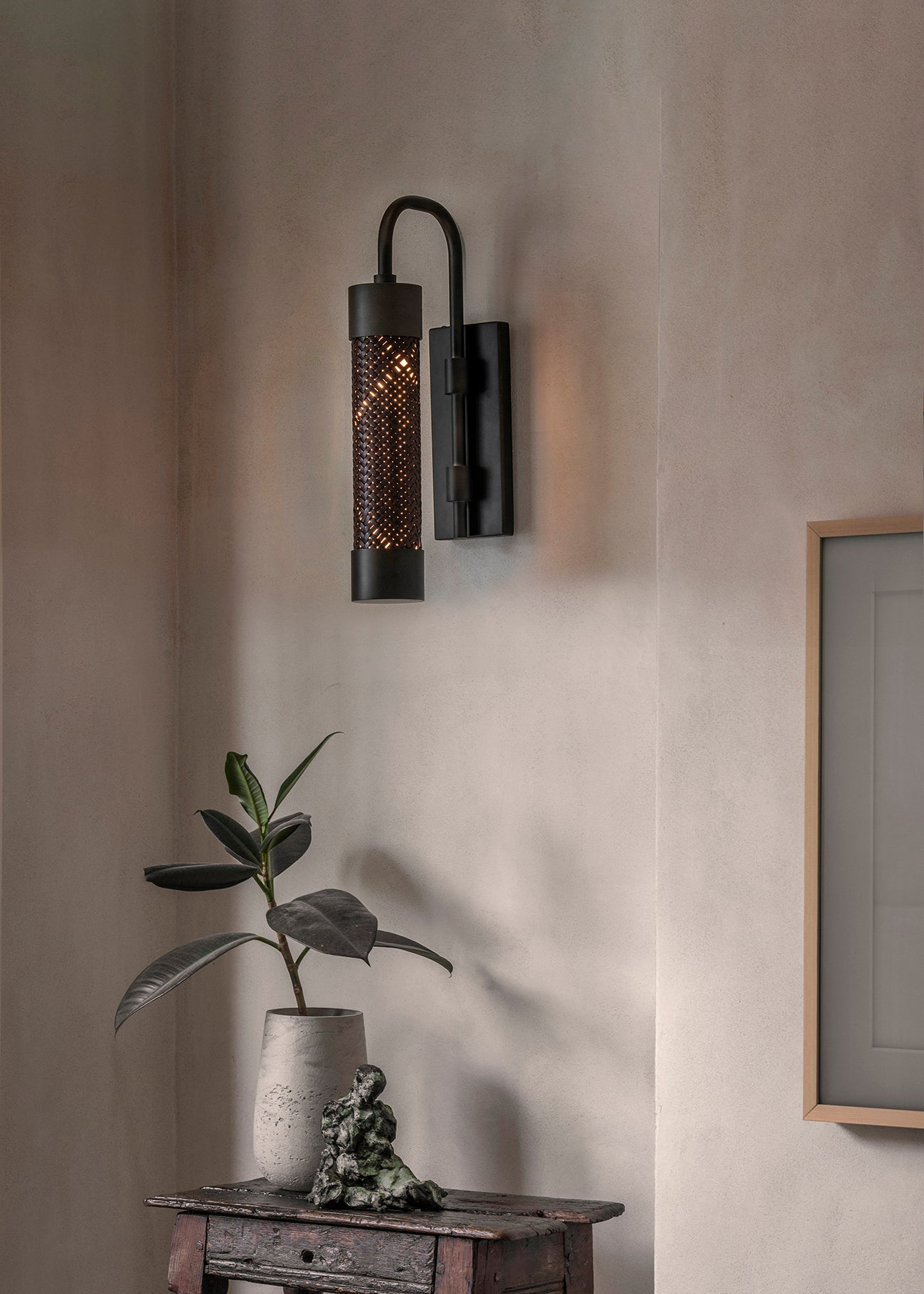 Bill Amberg launches a the Loom Collection of woven lighting designs