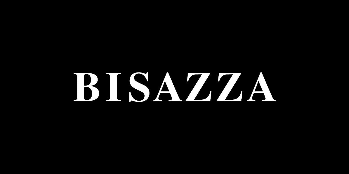 Bisazza logo black and white