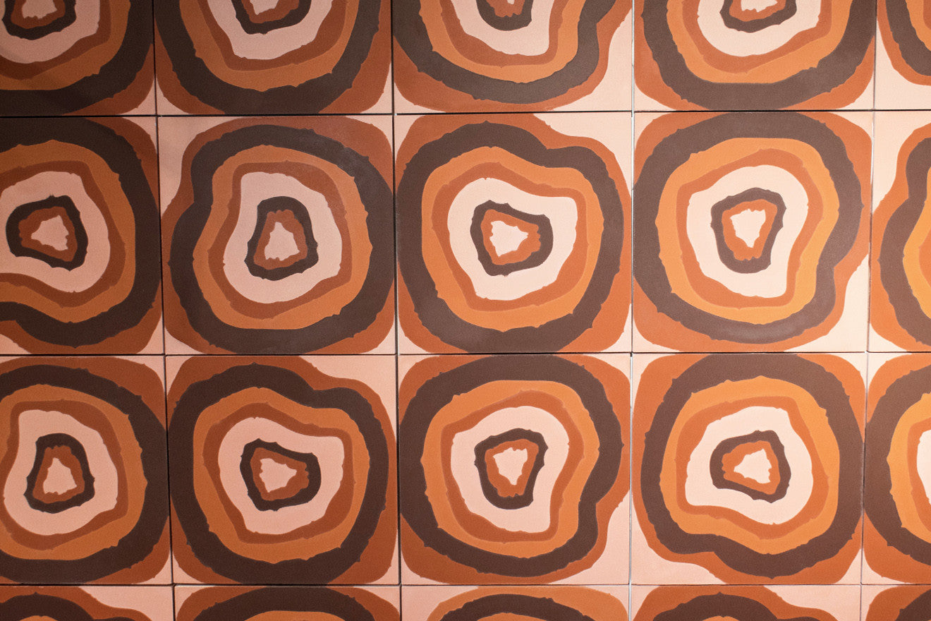 Campana brothers collaboration with Bisazza to create concrete tiles