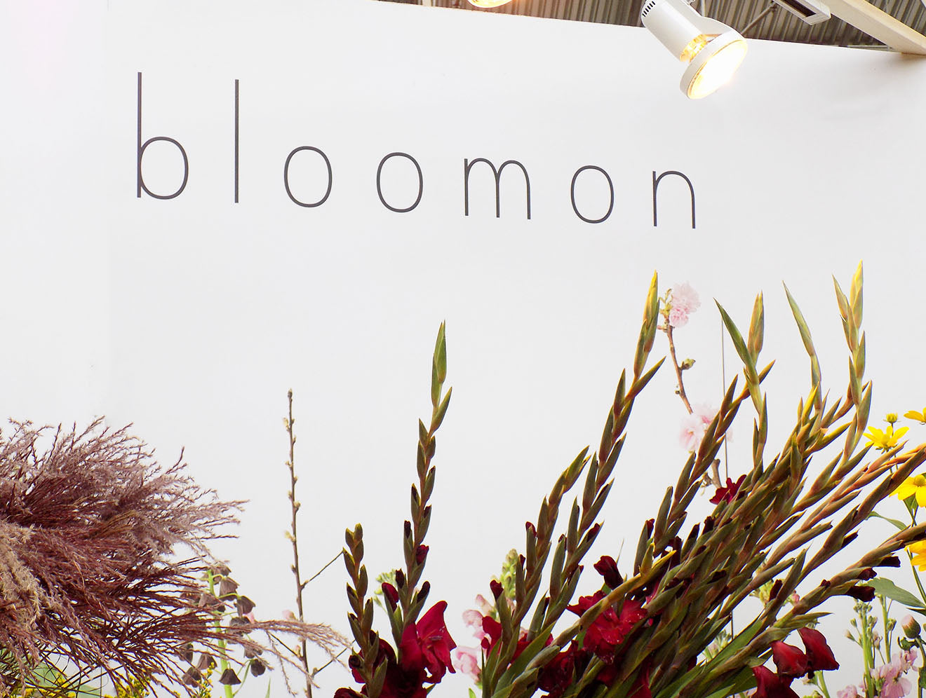 Bloomon stand and display at designjunction