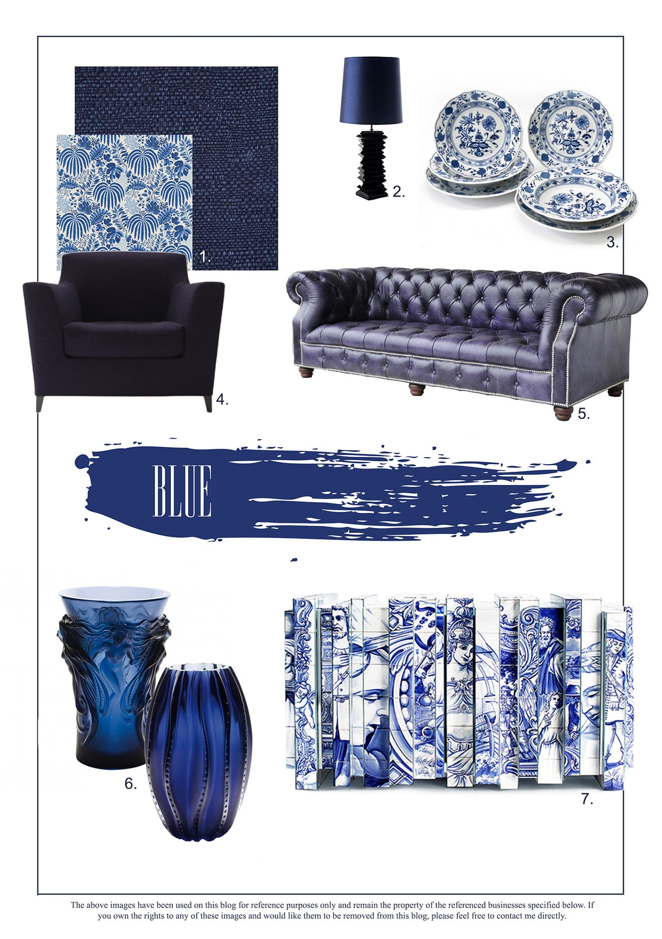 Blue Interior Design Trends for the Home