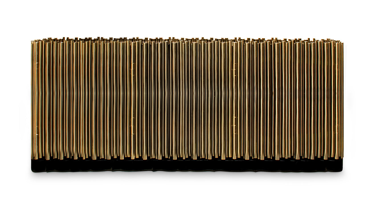 50 Shades of Grey Symphony Brass sideboard from Boca Do Lobo