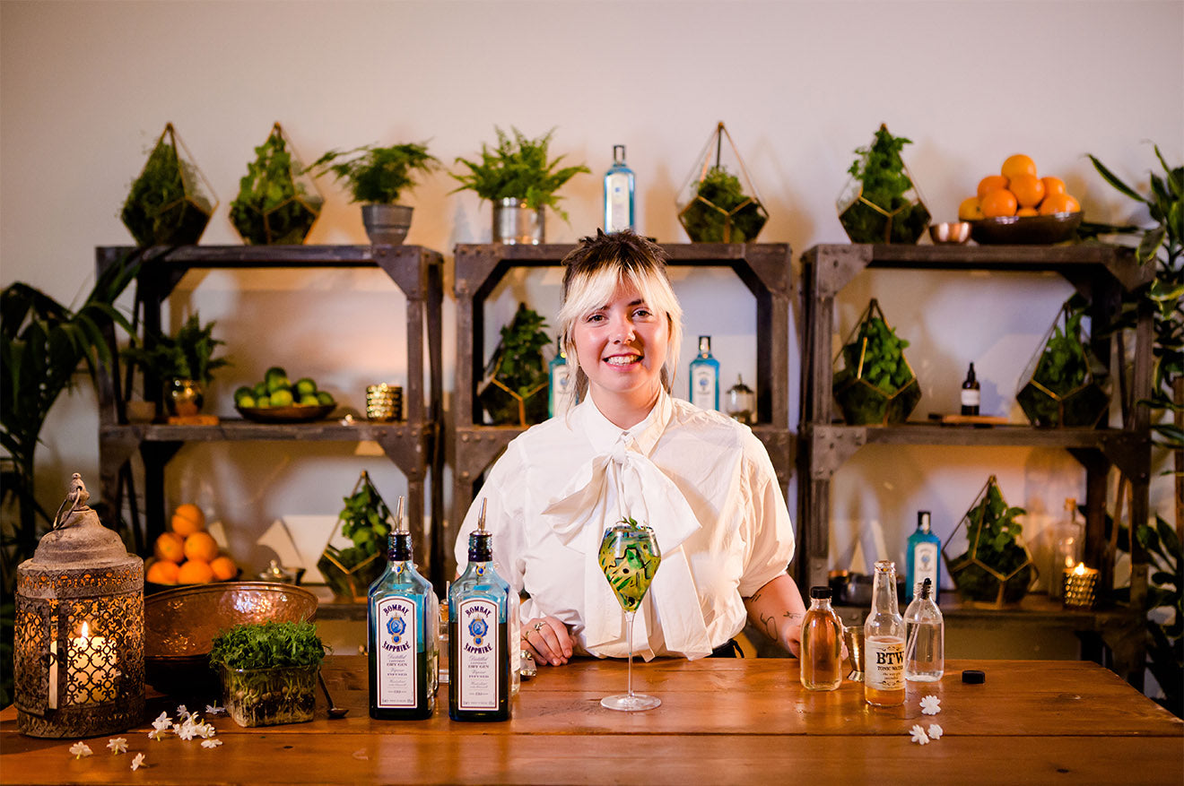 Bombay Sapphire Creative Atelier-Constanca Codeiro-Peg and Patriot