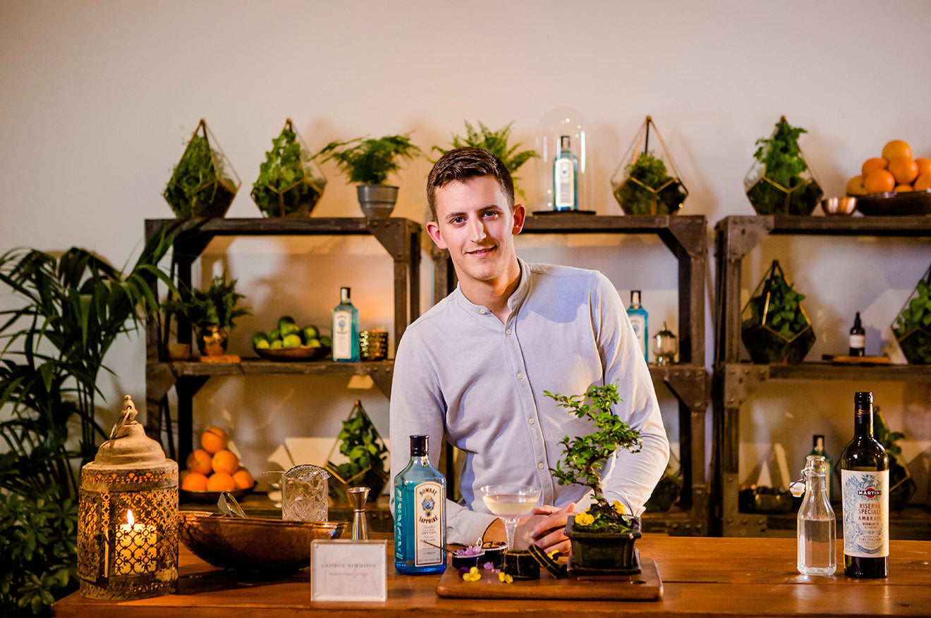 Bombay Sapphire Creative Atelier-George Simmons-Heddon Street Kitchen