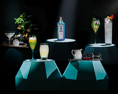 Bombay Sapphire London cocktail challenge