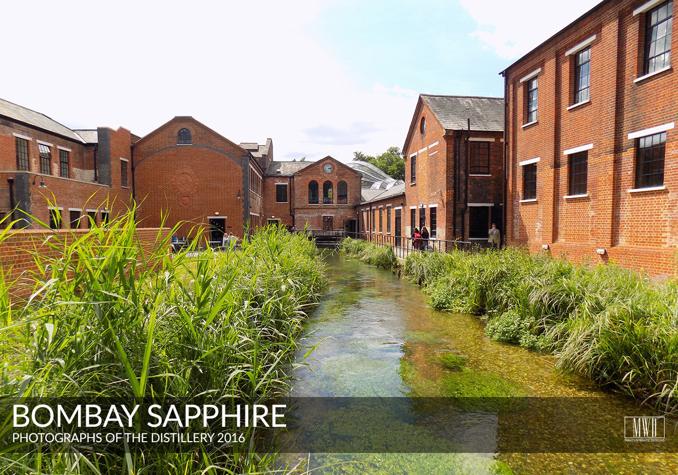 Bombay Saphire Distillery UK