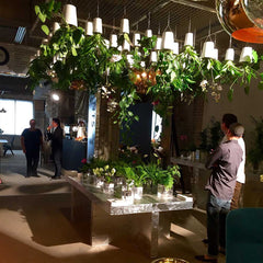 Bosky upside down planter display stand at Tom Dixon Multiplex