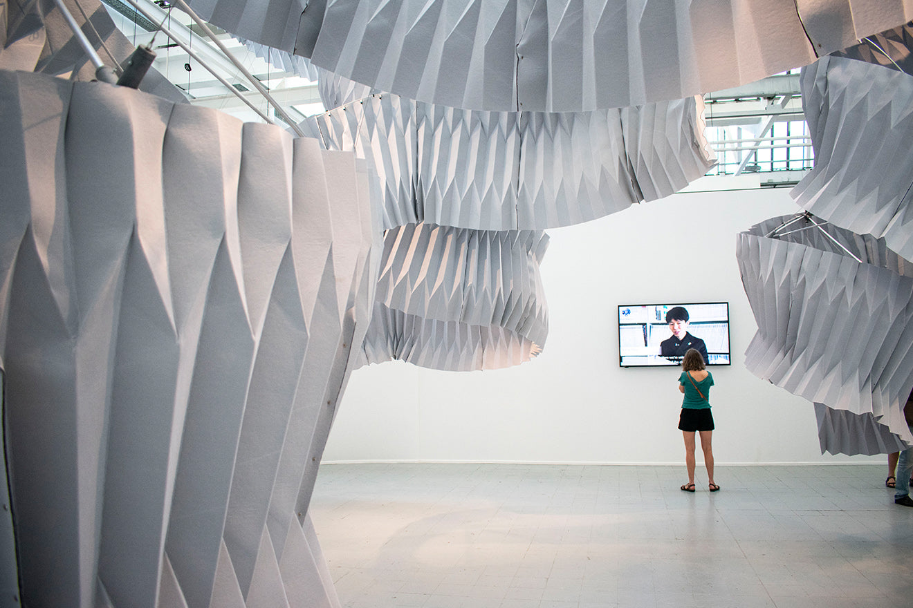 'Breath/ng' by Kengo Kuma and Associates Tortona Milan Design Week