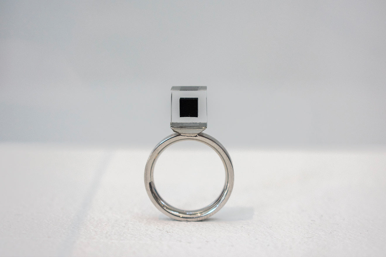 ring created from pollution Milan Design Week