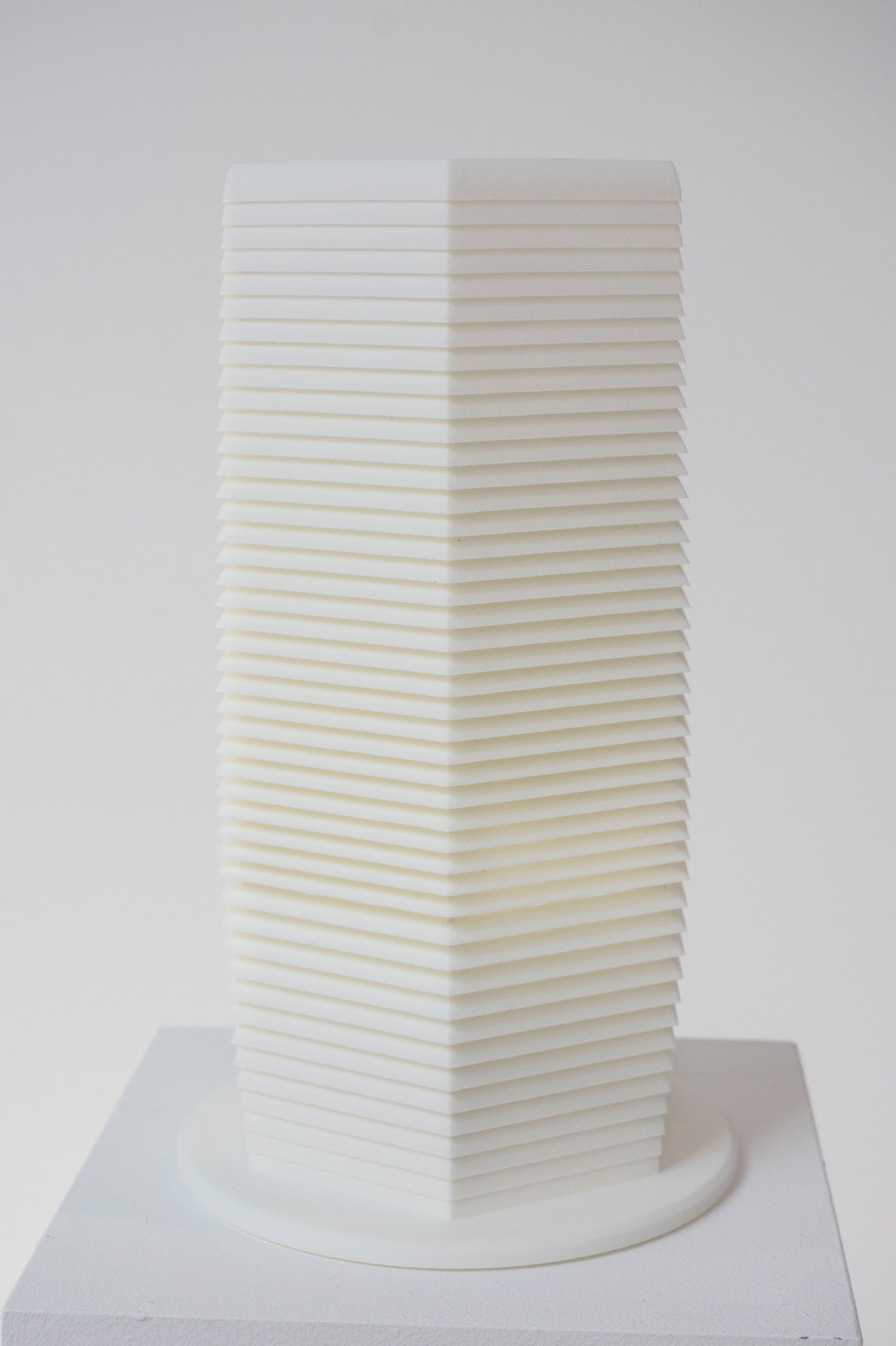 Pollution tower Milan model