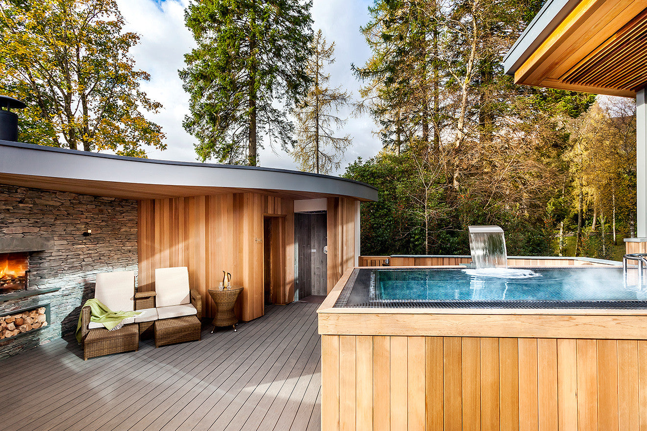 Brimstone Hotel Spa with outdoor swimming pool and sauna