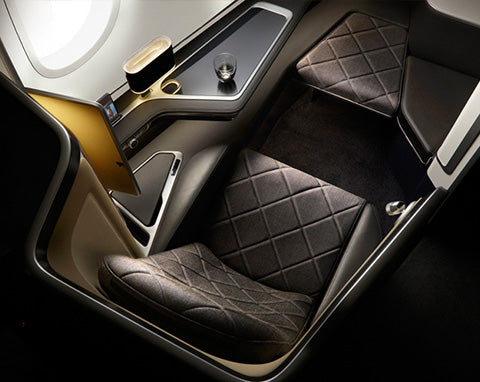 British Airways First Class Cabin Dreamliner