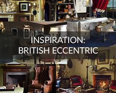British Eccentric Interior Design Inspiration