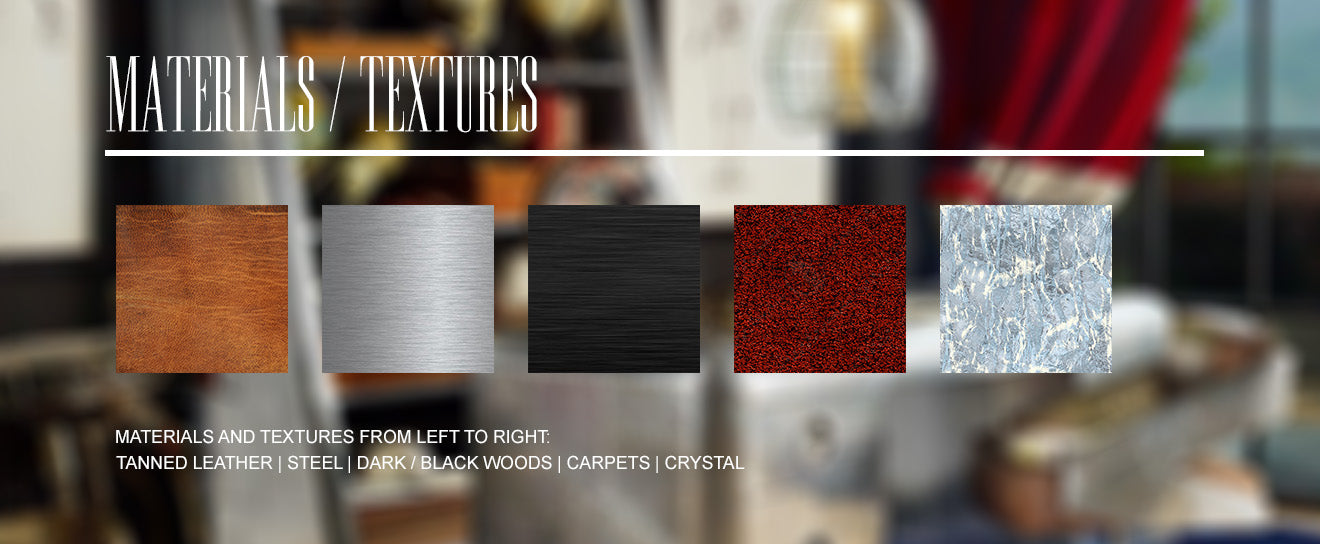 Classic British Home Decoration Materials and Textures