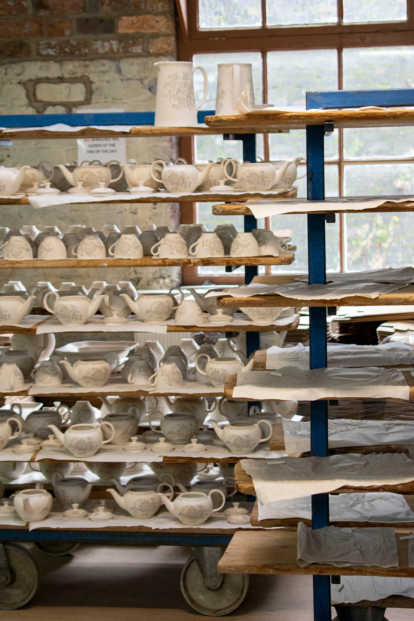 Burleigh Pottery Factory Visit and Tour Stoke-on-Trent