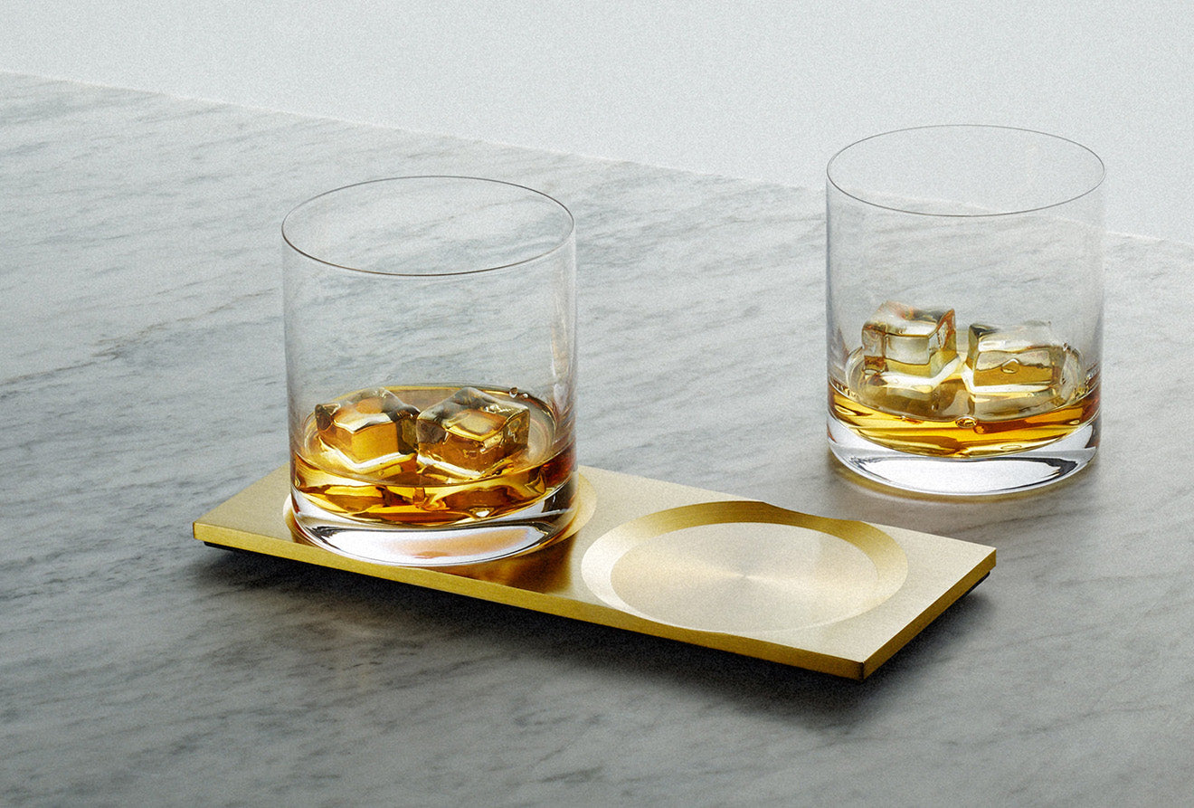Buster + Punch whisky glasses Machined