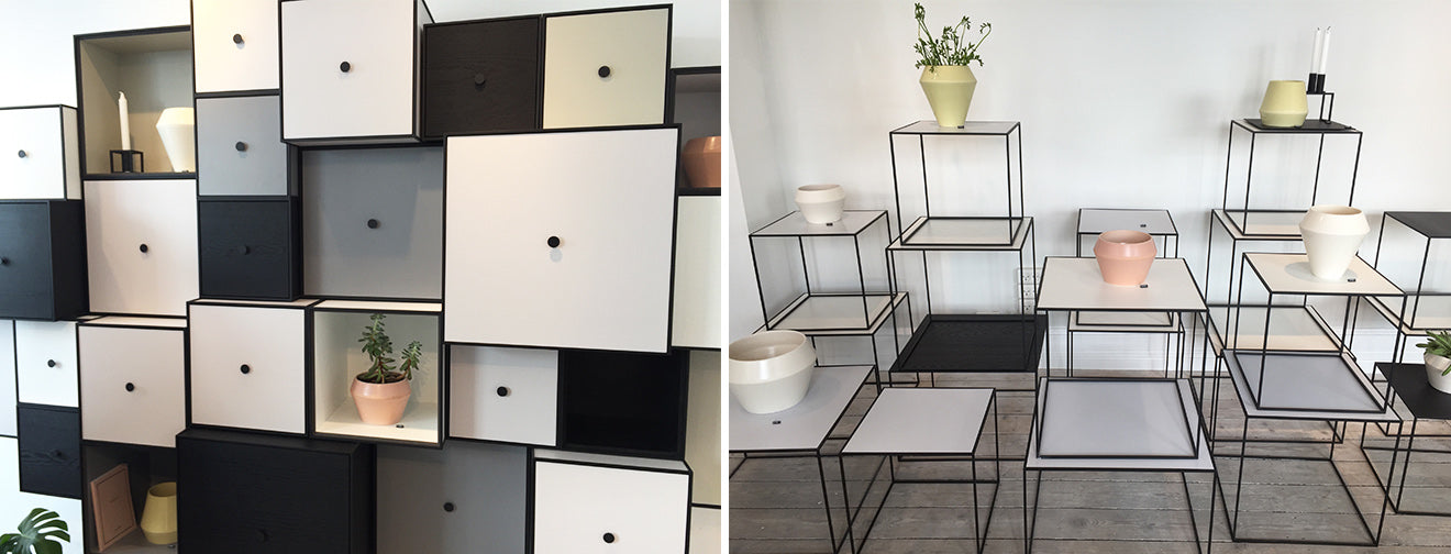 By Lassen Cubed units, cabinets and tables