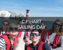 C P Hart Sailing Day
