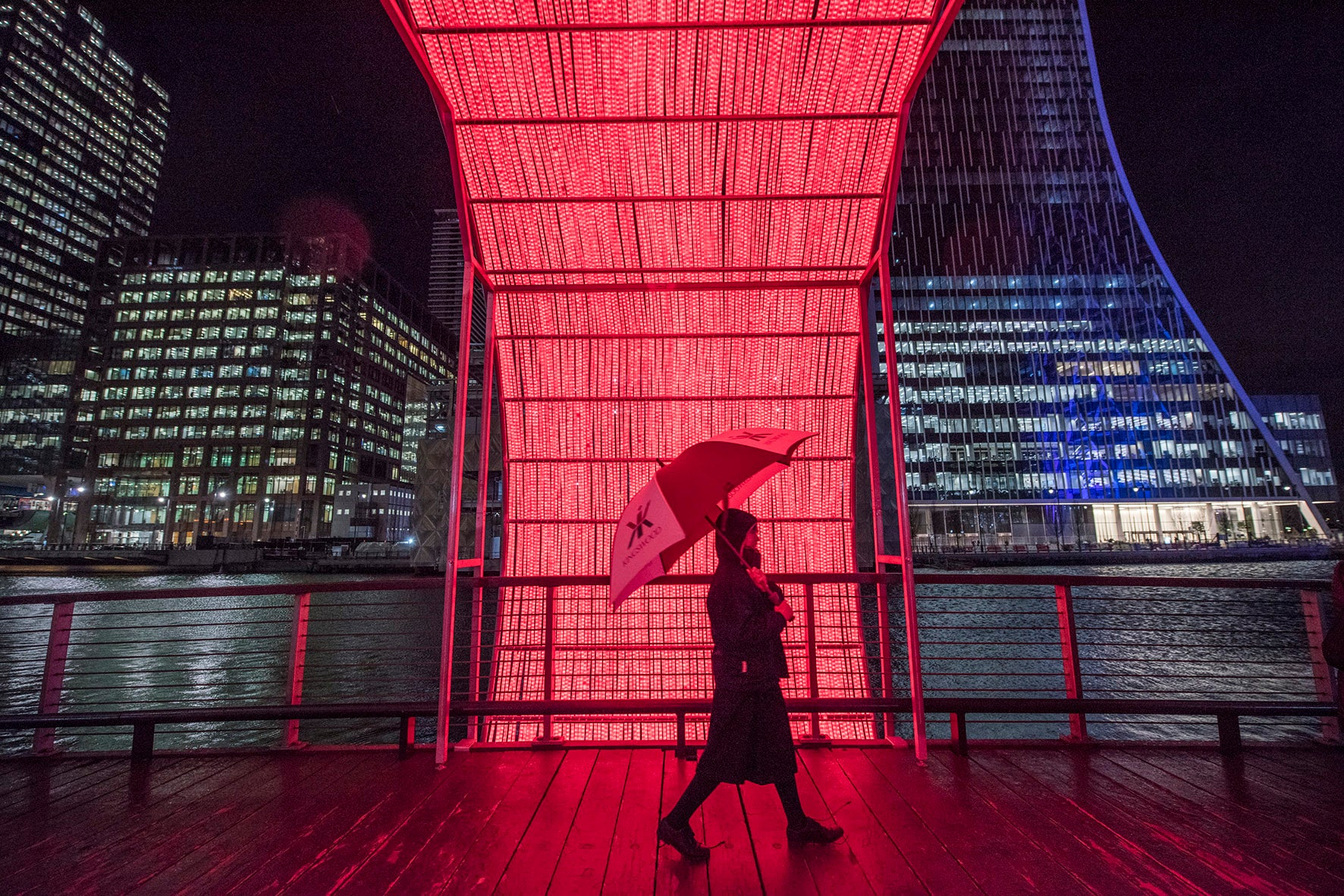 The Clew: Ottotto Canary Wharf Winter Lights 2020