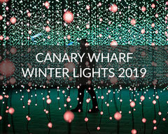 Canary Wharf Winter Lights 2019