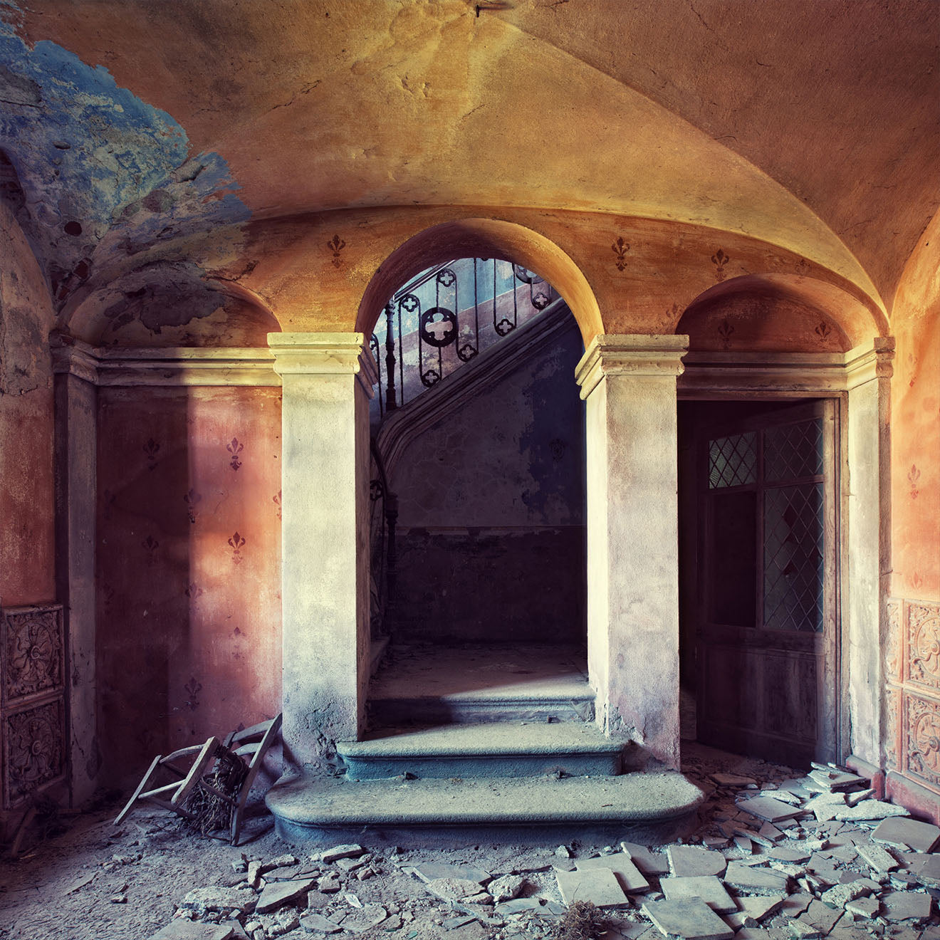 Abandoned Chapel photograph from Gina Soden on Rise Art