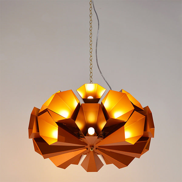 Charles Lethaby Capella industrial chandelier lighting design