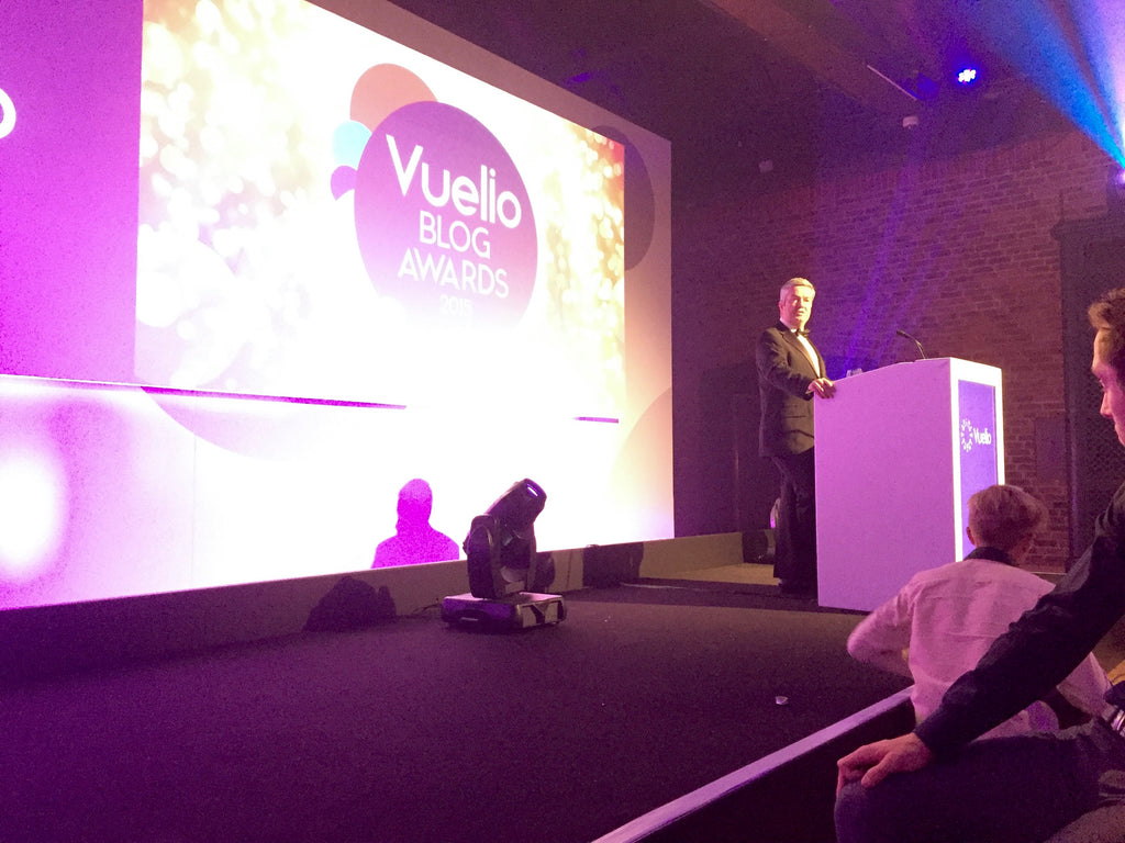 Hosting the Vuelio Blog Awards 2015