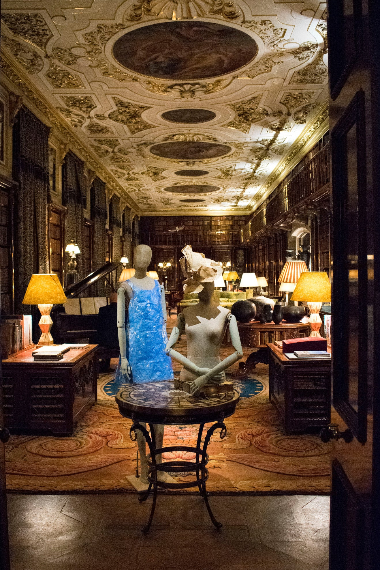 Chatsworth House Library Room