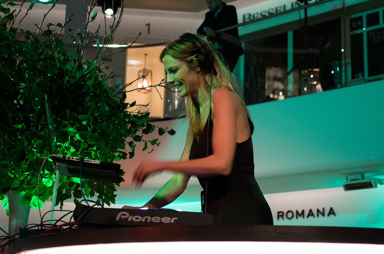 Guest DJ at the London Design Centre