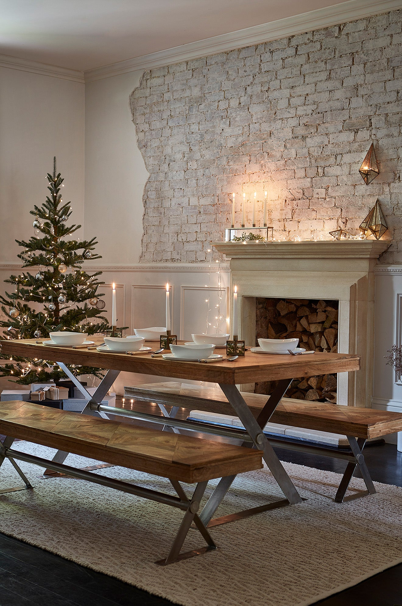 Christmas decorating ideas from Lombok Winter range
