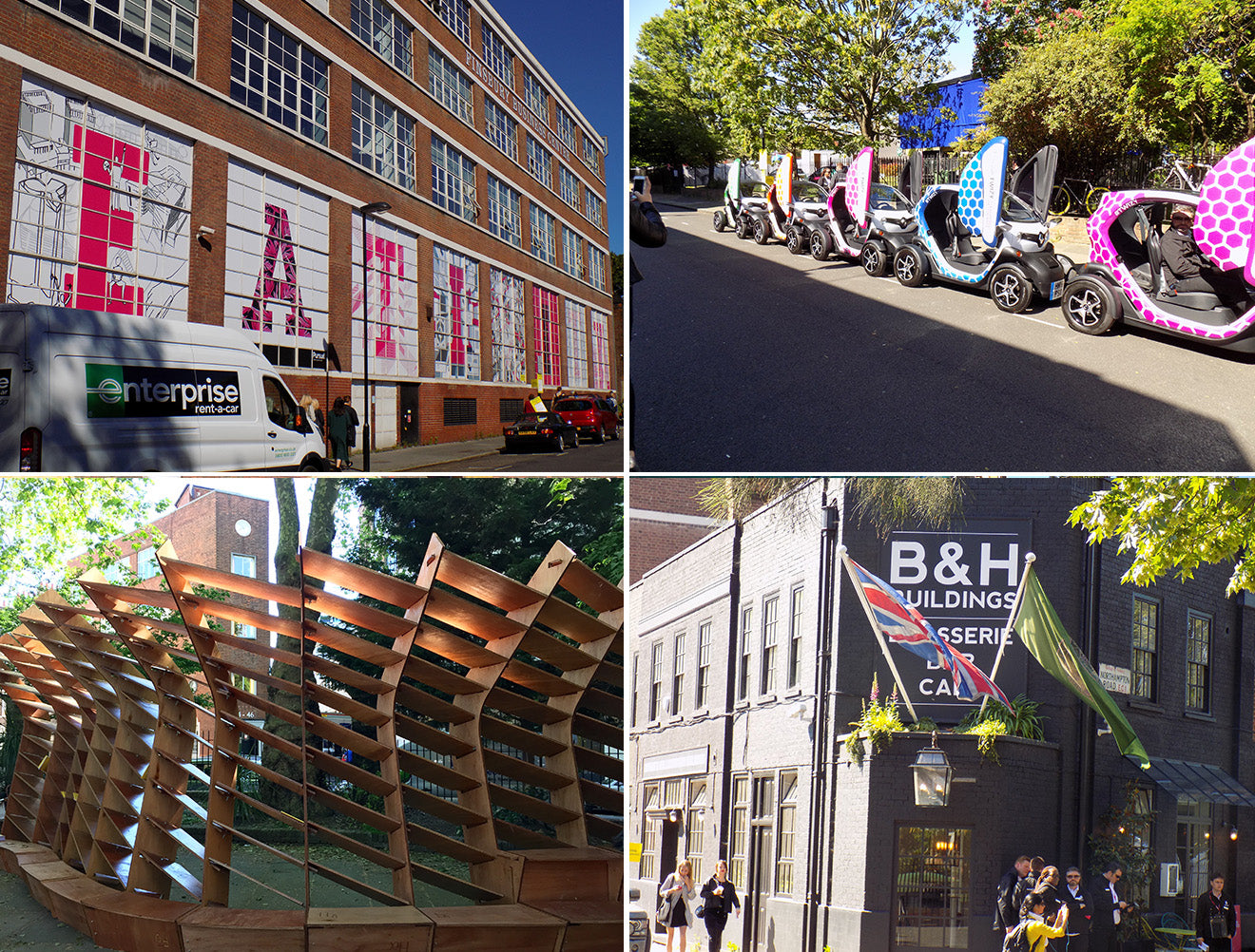 Highloghts and images of Clerkenwell Design Week 2016
