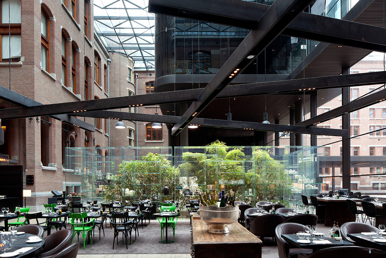 Conservatorium Brasseries and Lounge industrial restaurant design