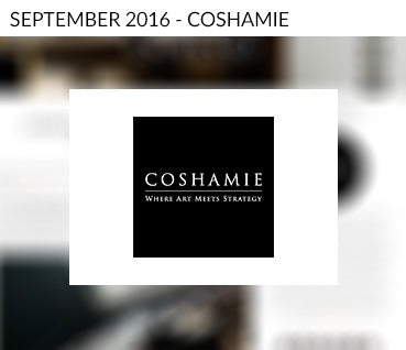 Coshamie features Dawn + Dusk collection
