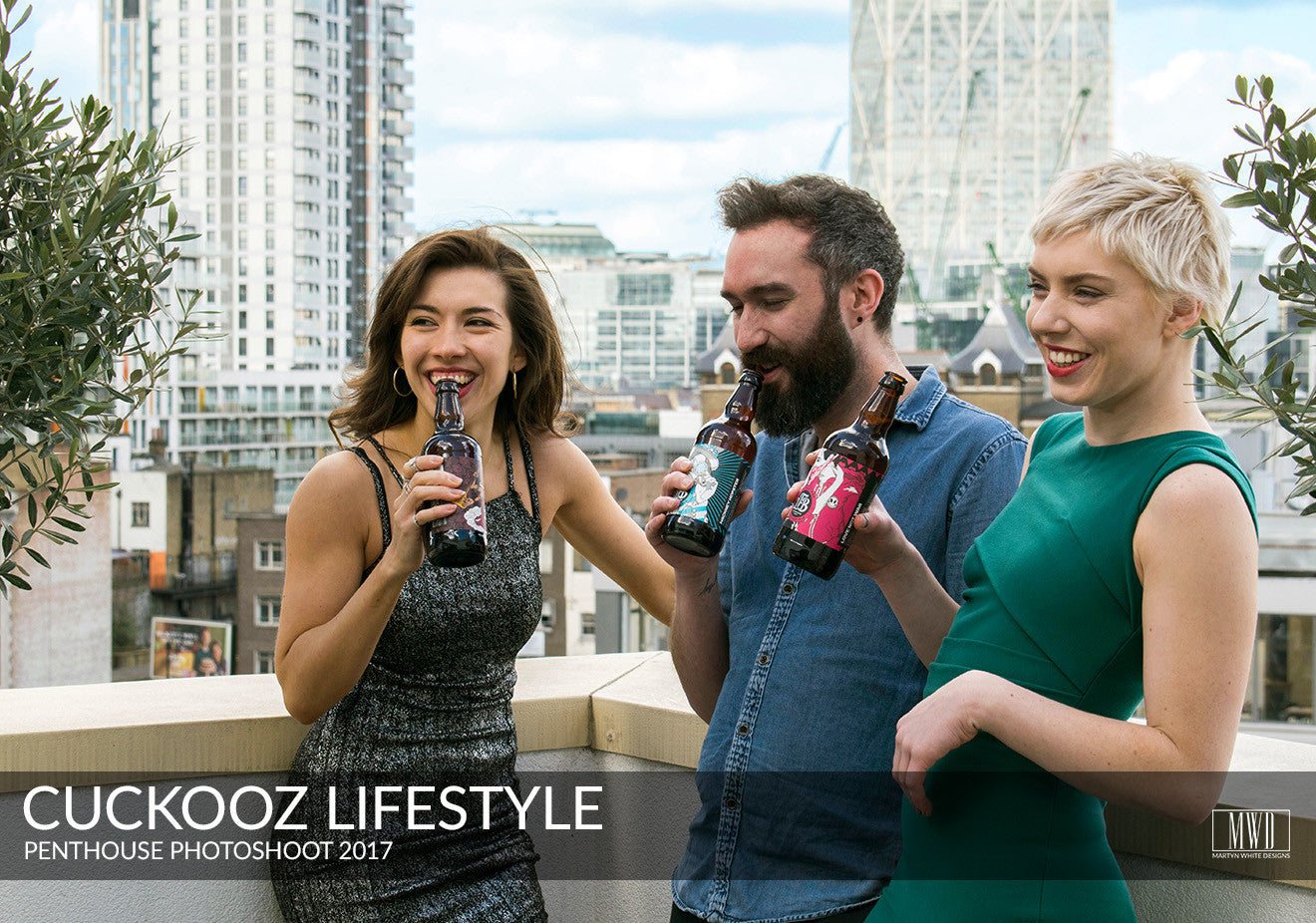 Cuckooz long stay serviced apartments London rooftop terrace