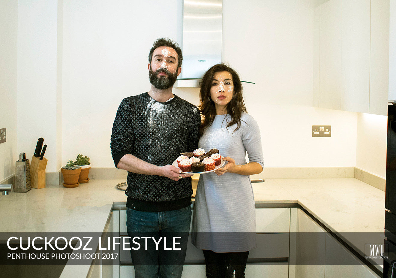Cuckooz long stay serviced apartments London baking cakes