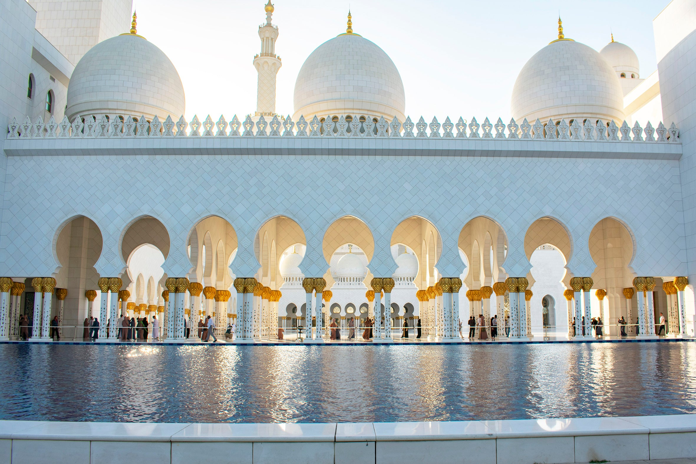 Sheikh Zayed Mosque Abu Dhabi UAE Travel