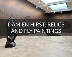 Damien Hirst Relics & Fly Paintings
